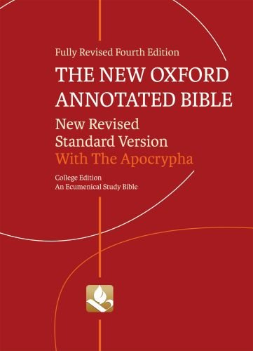 9780195289596: The New Oxford Annotated Bible with Apocrypha: New Revised Standard Version, Ecumenical Study Bible