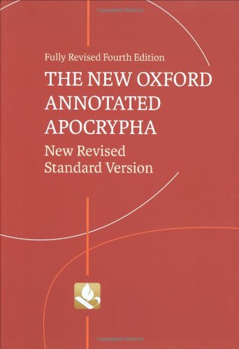 9780195289619: The New Oxford Annotated Apocrypha: New Revised Standard Version