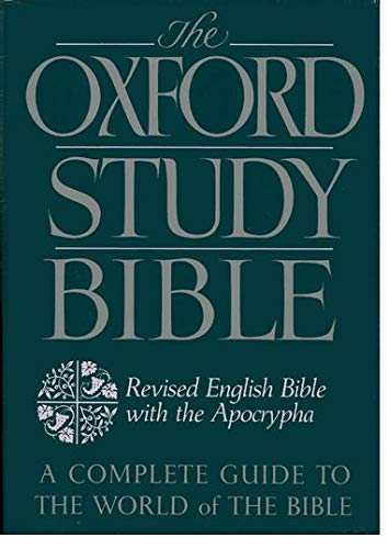 9780195290004: The Oxford Study Bible: Revised English Bible with the Apocrypha