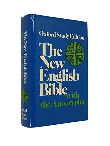 9780195297225: The New English Bible with the Apocrypha, Oxford Study Edition