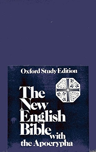 9780195297256: The New English Bible with the Apocrypha, Oxford Study Ed.: Black Berkshire Leather