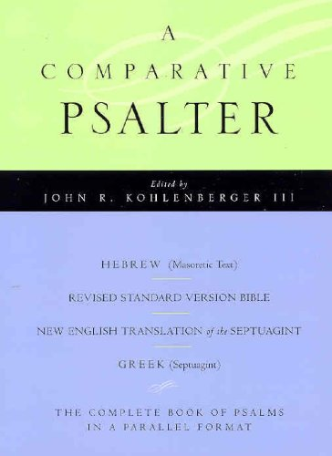 9780195297614: The Comparative Psalter: Hebrew - Greek - English
