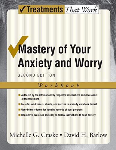 9780195300017: Mastery of Your Anxiety and Worry: Workbook (Treatments That Work)