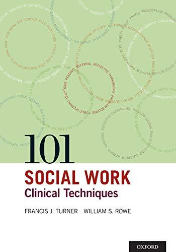 9780195300543: 101 Social Work Clinical Techniques