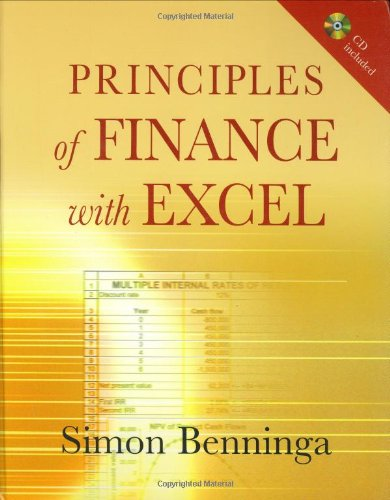 9780195301502: Principles of Finance with Excel: Includes CD