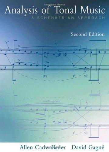 9780195301762: Analysis of Tonal Music: A Schenkerian Approach