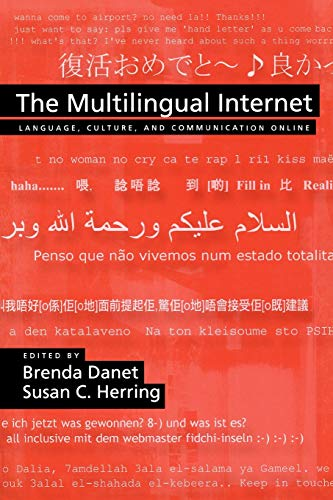 9780195304800: The Multilingual Internet: Language, Culture, and Communication Online