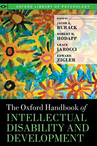 9780195305012: The Oxford Handbook of Intellectual Disability and Development (Oxford Library of Psychology)