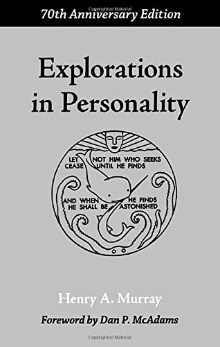 9780195305067: Explorations in Personality