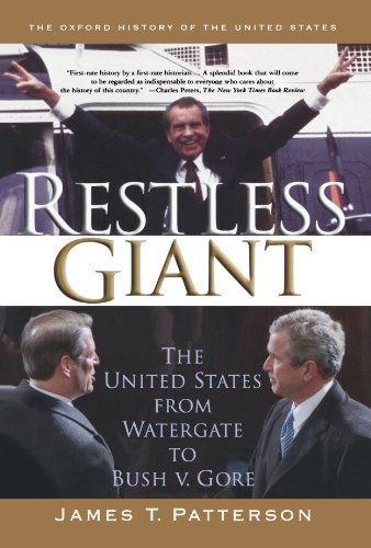 9780195305227: Restless Giant: The United States from Watergate to Bush v. Gore (Oxford History of the United States)