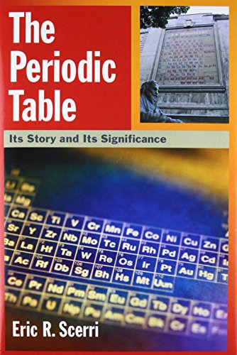 9780195305739: The Periodic Table: Its Story and Its Significance