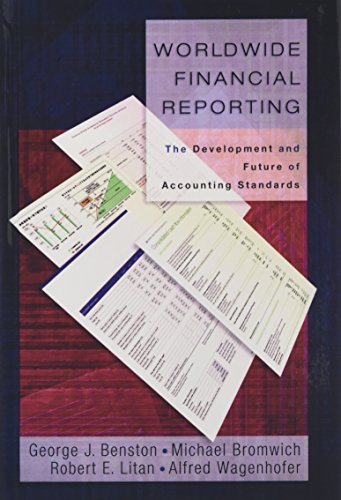 9780195305838: Worldwide Financial Reporting: The Development and Future of Accounting Standards
