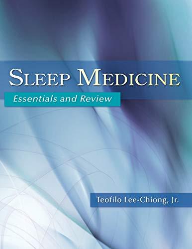 9780195306590: Sleep Medicine: Essentials and Review