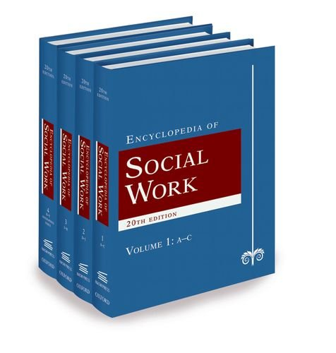 9780195306613: The Encyclopedia of Social Work (4 Volume Set)