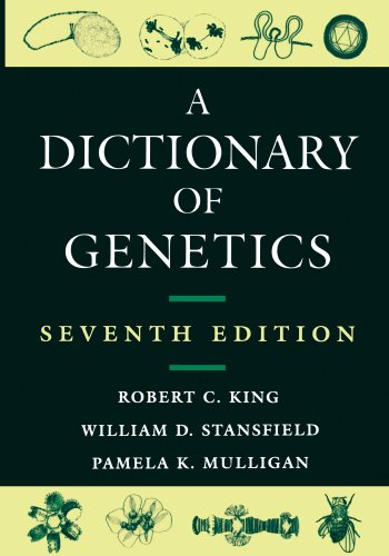 A Dictionary of Genetics [Paperback] King, Robert