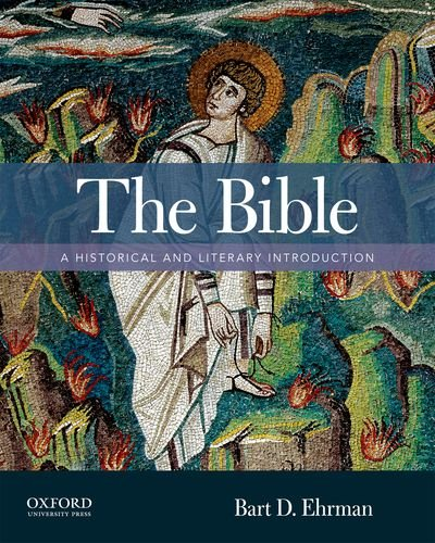 9780195308167: The Bible: A Historical and Literary Introduction