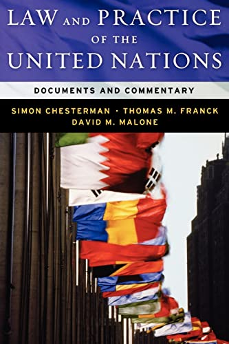 9780195308433: Law and Practice of the United Nations: Documents and Commentary