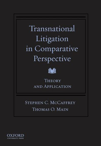 9780195309041: Transnational Litigation in Comparative Perspective: Theory & Application