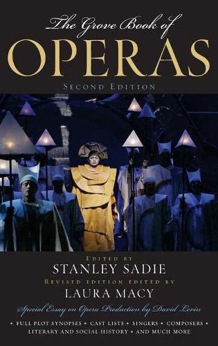 9780195309072: The Grove Book of Operas