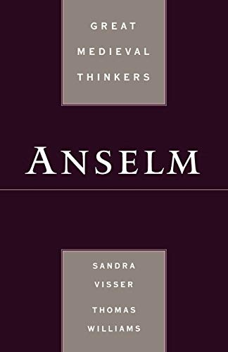 9780195309393: Anselm (Great Medieval Thinkers)