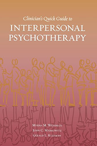 9780195309416: Clinician's Quick Guide to Interpersonal Psychotherapy