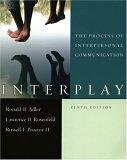 9780195309928: Interplay: The Process of Interpersonal Communication
