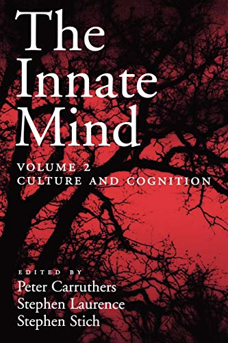 9780195310146: The Innate Mind: Volume 2: Culture and Cognition (Evolution and Cognition Series)