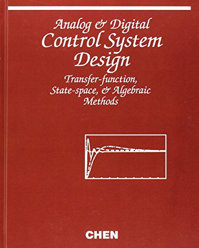 9780195310467: Analog and Digital Control System Design: Transfer-Function, State-Space, and Algebraic Methods