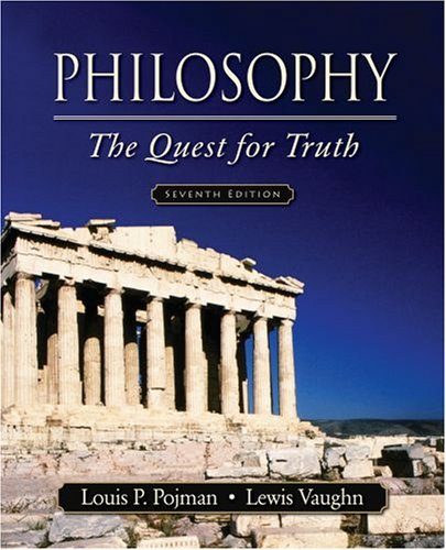 9780195311327: Philosophy: The Quest for Truth