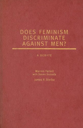 9780195312829: Does Feminism Discriminate Against Men?: A Debate (Point/Counterpoint)