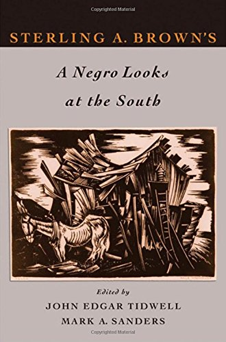 9780195313994: Sterling A. Brown's A Negro Looks at the South