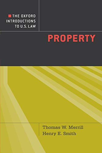 9780195314762: The Oxford Introductions to U.S. Law: Property