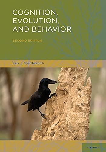 9780195319842: Cognition, Evolution, and Behavior