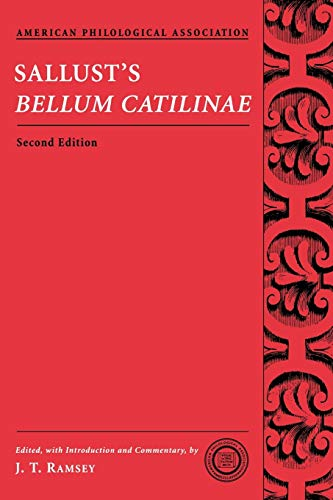 9780195320855: Sallust's Bellum Catilinae (Society for Classical Studies Texts & Commentaries)