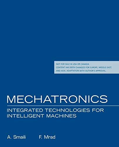 9780195322392: Mechatronics: Integrated Technologies for Intelligent Machines: International Edition