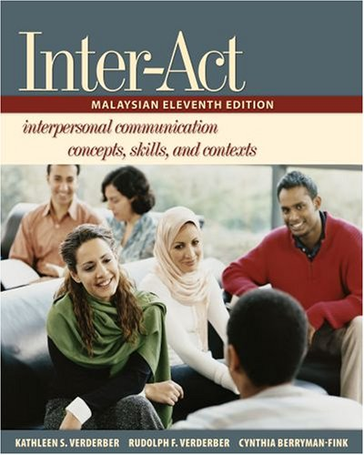 9780195322538: INTER-ACT: INTERPERSONAL COMMUNICATION CONCEPTS, SKILLS, AND CONTEXTS.