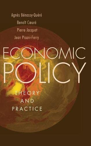 9780195322736: Economic Policy: Theory and Practice