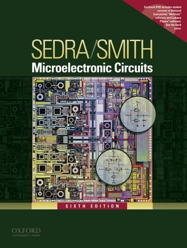 9780195323030: Microelectronic Circuits (The Oxford Series in Electrical and Computer Engineering)