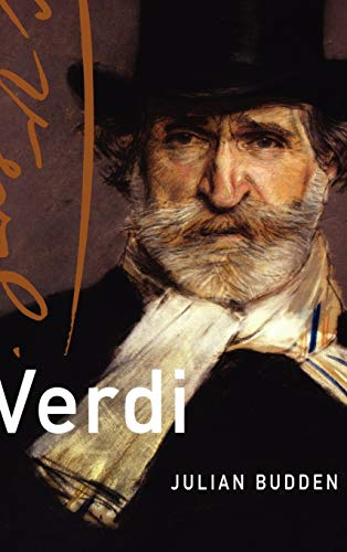 9780195323429: Verdi (Master Musicians Series)