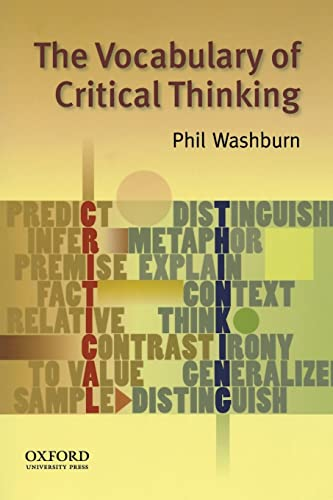 9780195324808: The Vocabulary of Critical Thinking
