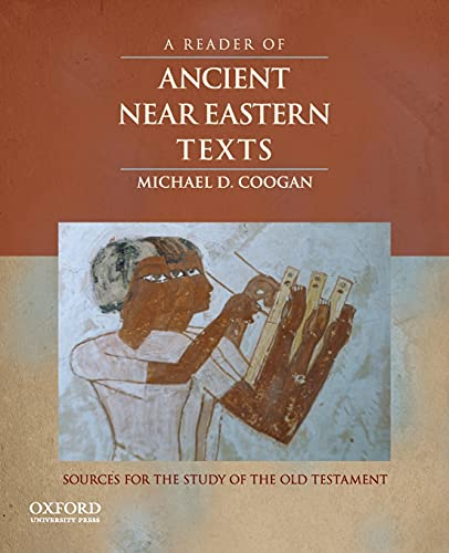 9780195324921: A Reader of Ancient Near Eastern Texts: Sources for the Study of the Old Testament