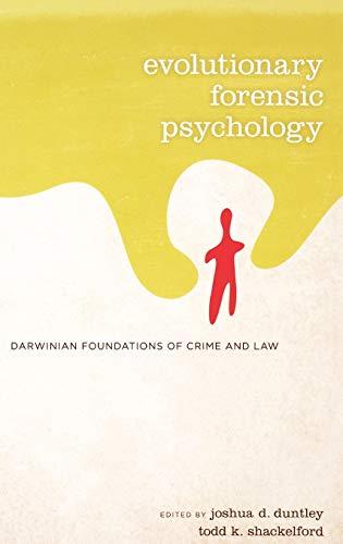 9780195325188: Evolutionary Forensic Psychology