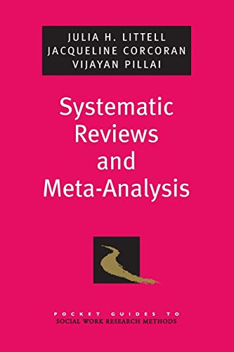 9780195326543: Systematic Reviews and Meta-Analysis (Pocket Guide to Social Work Research Methods)
