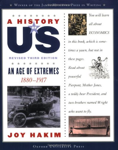 9780195327229: A History of US: An Age of Extremes: 1880-1917 A History of US Book Eight