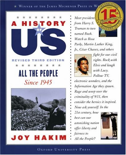 9780195327243: All the People: Since 1945 A History of US Book 10