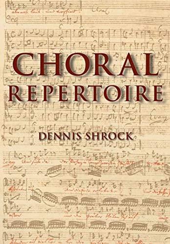 Download Choral Repertoire
