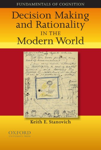 9780195328127: Decision Making and Rationality in the Modern World (Fundamentals in Cognition)