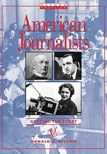 9780195328370: American Journalists (Oxford Profiles)