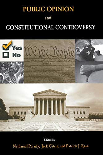 9780195329421: Public Opinion and Constitutional Controversy