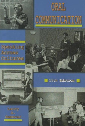 9780195329919: Oral Communication: Speaking Across Cultures